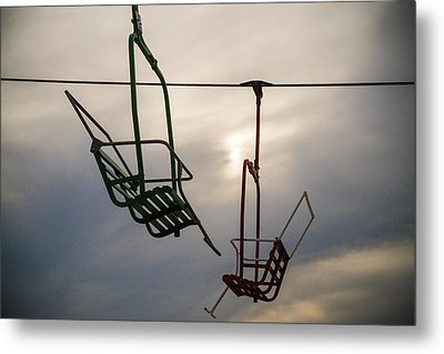 Sky Ride Metal Print by Kristopher Schoenleber