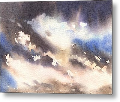 Skyscape Metal Print by Alison Fennell