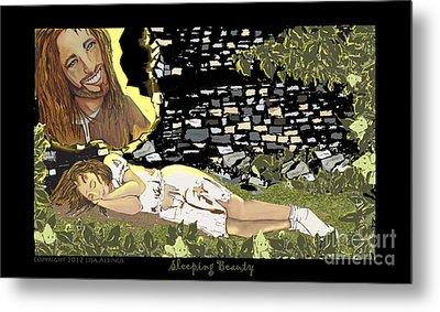 Sleeping Beauty Metal Print by Lisa  Albinus