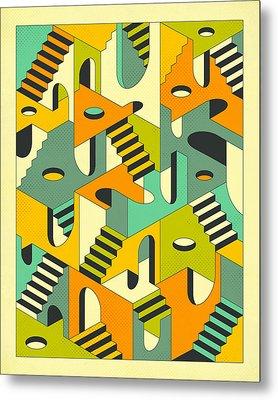 Sleepwalking Metal Print by Jazzberry Blue