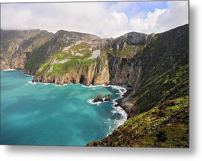 Slieve League Donegal Ireland Metal Print by Pierre Leclerc Photography