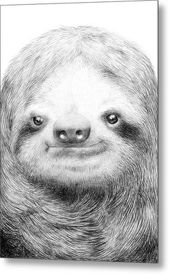 Sloth Metal Print by Eric Fan