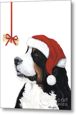 Smile Its Christmas Metal Print by Liane Weyers