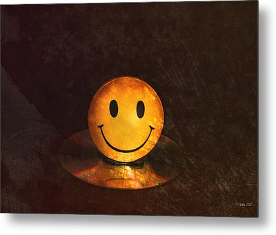 Smile Metal Print by Peter Chilelli
