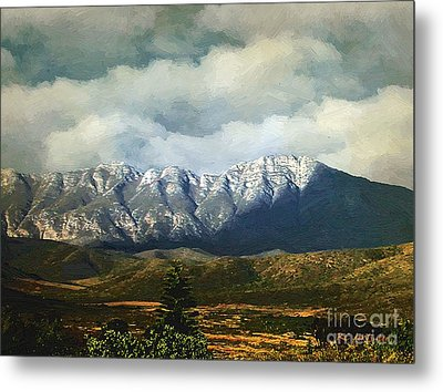 Smoky Clouds On A Thursday Metal Print by RC deWinter