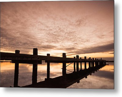 Smooth Bay Metal Print by Kristopher Schoenleber