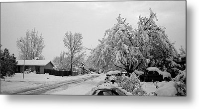 Snowed In Metal Print by Jera Sky