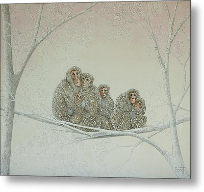 Snowed Under Metal Print by Pat Scott