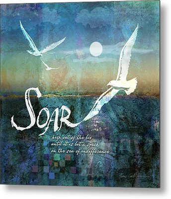 Soar Metal Print by Evie Cook
