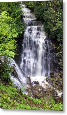 Soco Falls 1 Metal Print by Marty Koch