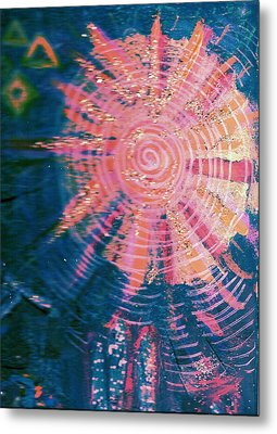 Something New Under The Sun Metal Print by Anne-Elizabeth Whiteway