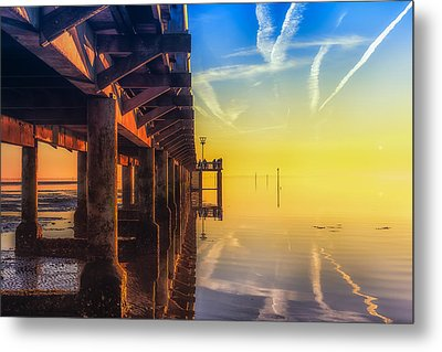 Metal Print featuring the photograph Somewhere Else by Thierry Bouriat