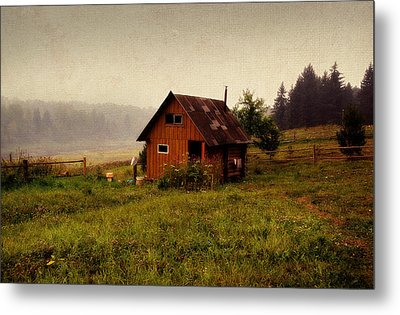 Somewhere In The Countryside. Russia Metal Print by Jenny Rainbow