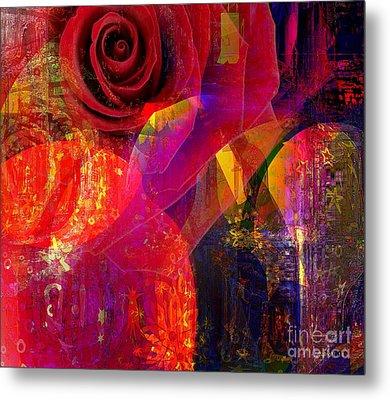 Song Of Solomon - Rose Of Sharon Metal Print by Fania Simon