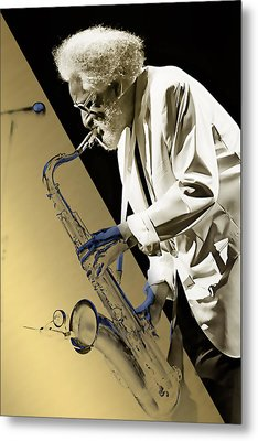 Sonny Rollins Collection Metal Print by Marvin Blaine