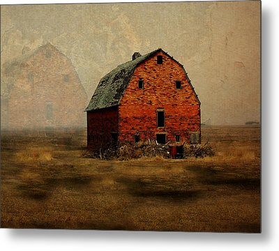 Soon To Be Forgotten Metal Print by Julie Hamilton