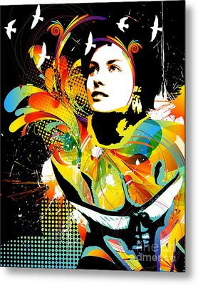 Soul Explosion II Metal Print by Chris Andruskiewicz