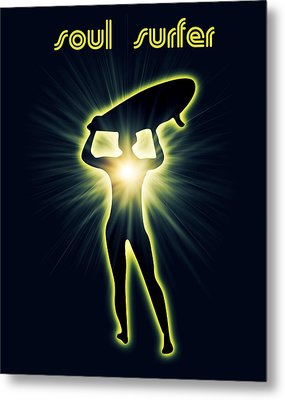 Soul Surfer Metal Print by Mark Ashkenazi