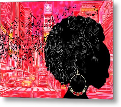 Sound Of Music Collection Metal Print by Marvin Blaine