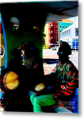 Sounds By Curacao  Metal Print by Steven Digman