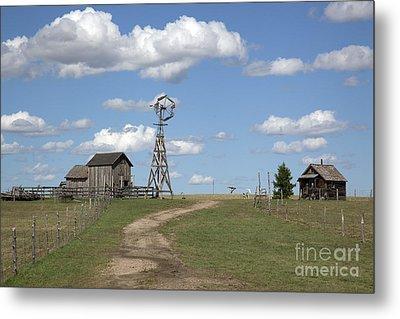 South Dakota: Windmill Metal Print by Granger