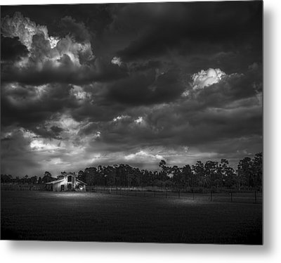 South Forty Bw2 Metal Print by Marvin Spates