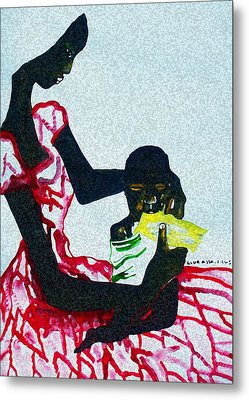 South Sudan War Child  Metal Print by Gloria Ssali