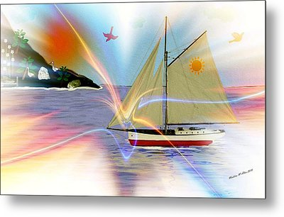 South Winds Metal Print by Madeline  Allen - SmudgeArt