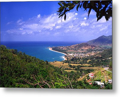Southeast Coast Of Puerto Rico From Panoramic Route 901 Metal Print by Thomas R Fletcher