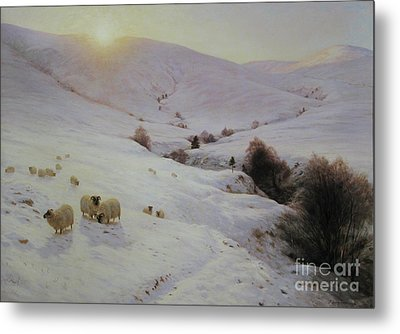 Southland Hills Metal Print by Celestial Images