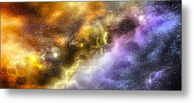 Space005 Metal Print by Svetlana Sewell