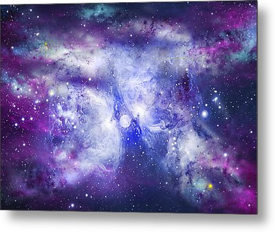 Space009 Metal Print by Svetlana Sewell