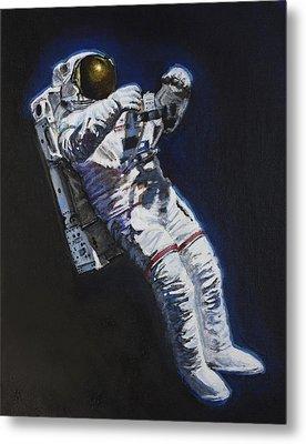 Spacewalk 2 Metal Print by Simon Kregar