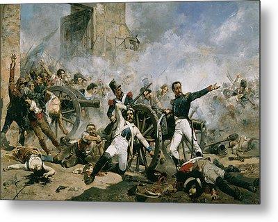 Spanish Uprising Against Napoleon In Spain Metal Print by Joaquin Sorolla y Bastida