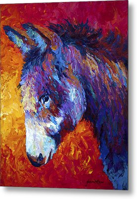 Sparky Metal Print by Marion Rose