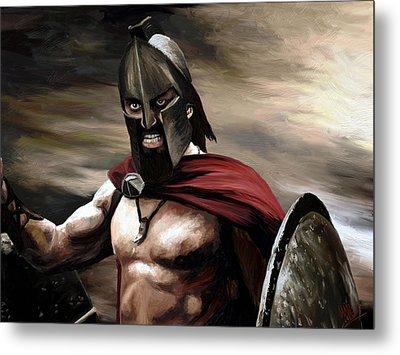 Spartan Metal Print by James Shepherd