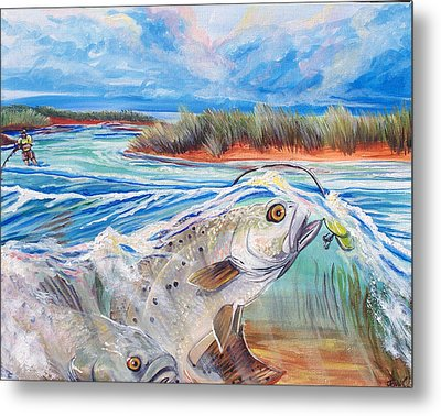 Speckled Trout Metal Print by Jenn Cunningham