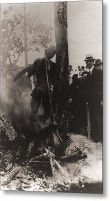 Spectators Photographed Metal Print by Everett