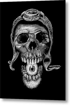 Speed Freak Metal Print by Bomonster