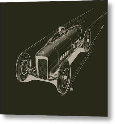 Speed Metal Print by Jeremy Lacy
