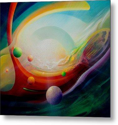 Sphere Q2 Metal Print by Drazen Pavlovic