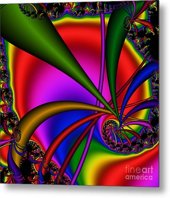 Spiral 123 Metal Print by Rolf Bertram