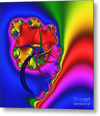 Spiral 141 Metal Print by Rolf Bertram