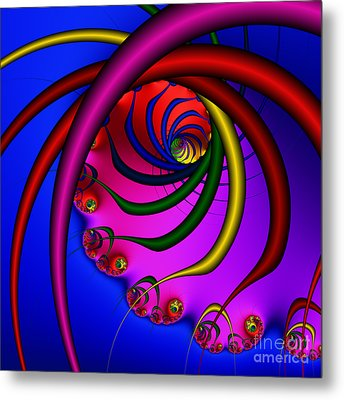 Spiral 216 Metal Print by Rolf Bertram