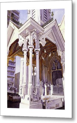 Spirits Of The Old Church Metal Print by Mike Hill