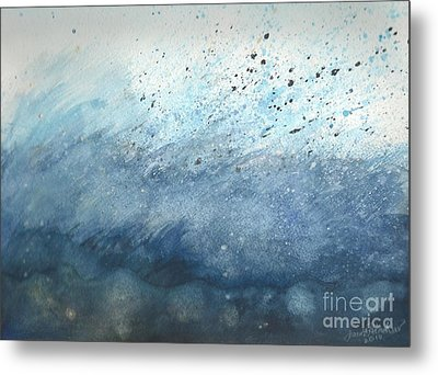 Splash   Metal Print by Janet Hinshaw