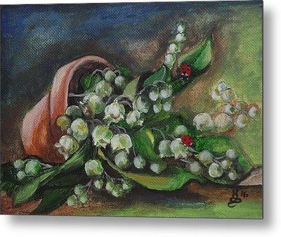 Spring Bouquet Metal Print by Kim Selig