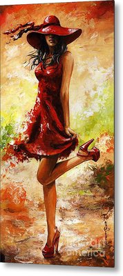Spring Breeze Metal Print by Emerico Imre Toth