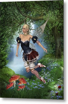 Spring Fae 5 Metal Print by David Griffith