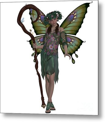 Spring Fairy Metal Print by Corey Ford